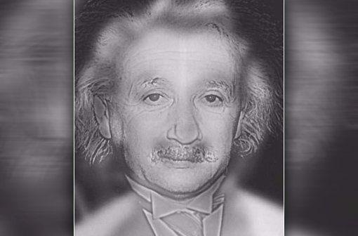 Wen erkennen Sie? Wissenschaftler Albert Einstein oder Sex-Symbol Marilyn Monroe? Foto: Youtube