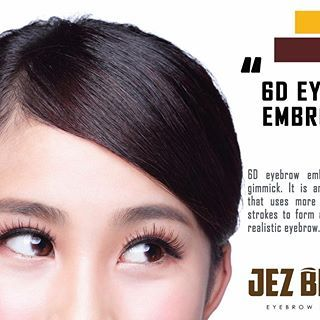 http://www.jezbrows.com/  We are the experts in Beauty. We make Brow, Nail and Face. Jezbrows wishes to provide eyebrow embroidery services for everyone to beautify at an affordable price. Quality matters when comes to beauty and only the best materials are handpicked to serve Jez Brows' clients. Check out our signature eyebrow embroidery service today.