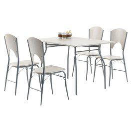 Étkezőasztal THYHOLM 80x120 fém | JYSK