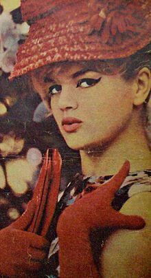 Violetta Villas, née Czesława Gospodarek (1938 - 2011) Star internationale de la musique (Cabaret)