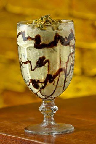 Milk-shake de pistache