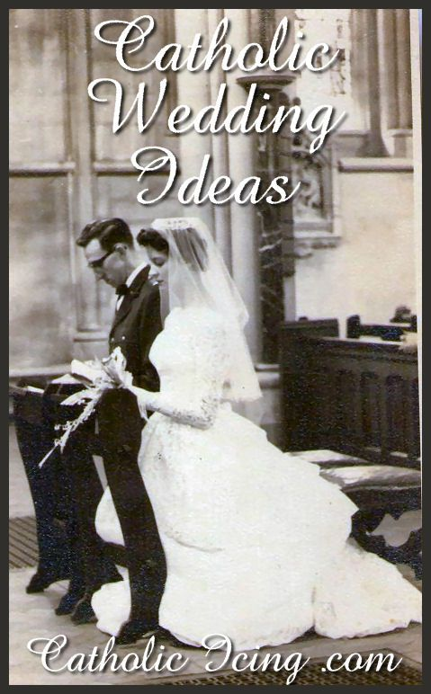 Catholic wedding ideas, complied by over 40 Catholic brides. There are some really good ones here that I hadn't seen yet! :-)