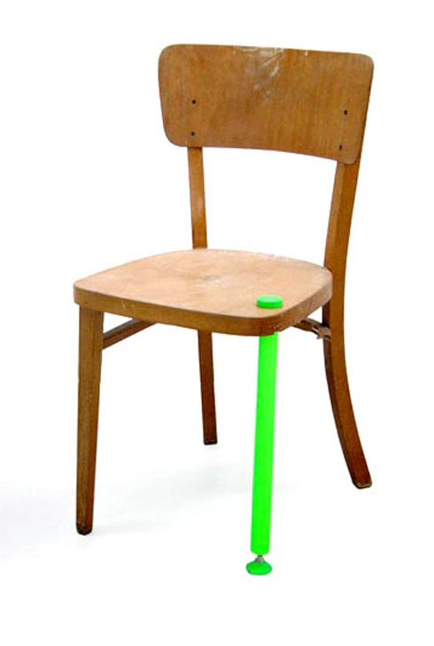 Hybrid Chair. This Is What Many Building Additions Look Like.