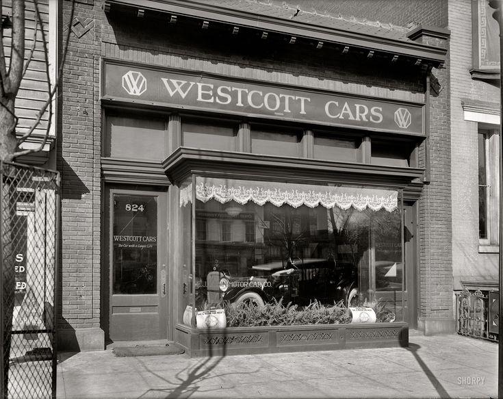 Springfield Car Dealerships >> (1920, Mar.) E.J. Quinn Motor Car Co. The Westcott automobile showroom on 14th Street ...