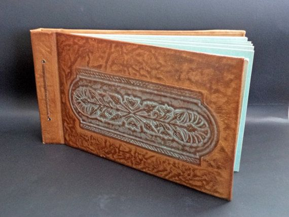 Vintage Luxury Leather Photo Album Large Photo by GuestFromThePast