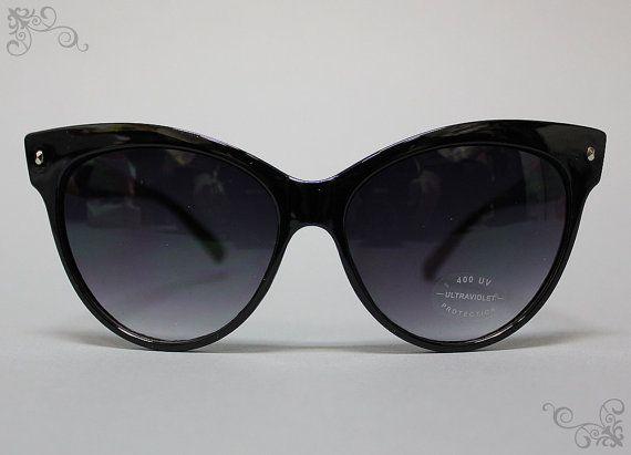 SMITTEN KITTEN SHADES, Black: Vintage Sunglasses Women Grunge Mod Cateye Retro 50s 60s 80s 90s Hipster Rocker Grunge Glam Indie Cool Rare on Etsy, $19.50