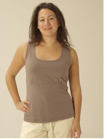 Organic Cotton Empire Top. A cool fit for Summer. www.kasperorganics
