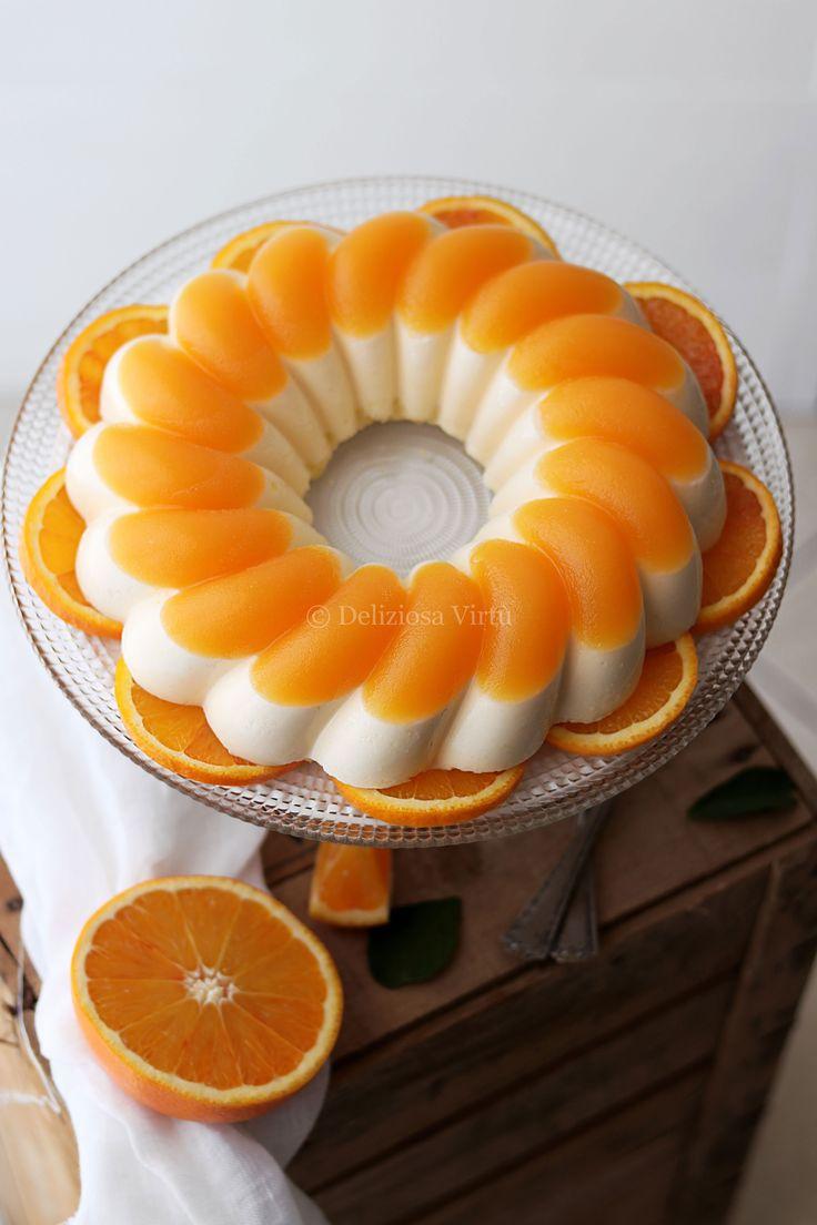 """Ciao a tutti! Oggi vi propongo uno dei miei dessert preferiti, un classico, la """"Bavarese all'arancia"""". Adoro in generale qualsiasi tipo di bavarese, trovo che sia un dolce al cucchiaio perfetto come dopo pasto, fresco e leggero. In questi anni di blog vi ho proposto altre varianti di bavarese, alcune di esse anche un pó…"""