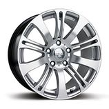 "RIVA MVE in Silver Specification: Size: 18"" x Width:8.0J or 8.5J Fitment: 5 stud only  PRICE, SET OF 4 £432"