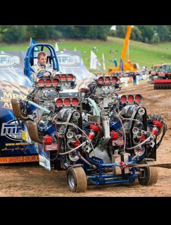 Tractor Pulling Motorcycle : Best images about hot rod lawnmowers and pulling
