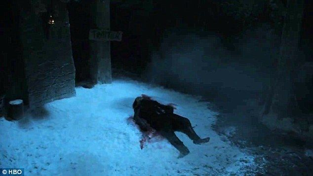 Previously on Game Of Thrones: The trailer opens right where season five left off: with the the Lord Commander's bloodied body lying sprawled in the snow at the foot of Castle Black