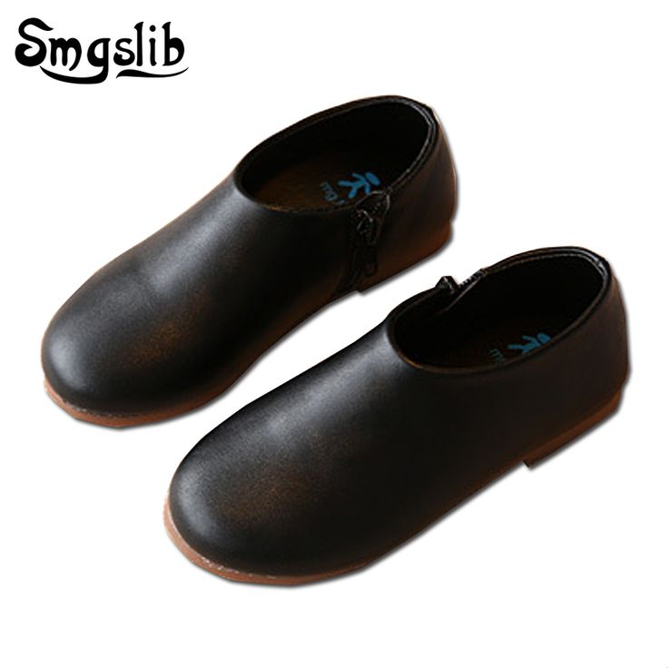 SMGSLIB children sneakers casual Breathable kids shoes Soft Sole boys flat PU Leather Shoes For toddler Girls trainers Size26-30 #Affiliate