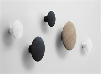Dots coat hook - 1 pack - small white - Muuto. Could also buy the multipack