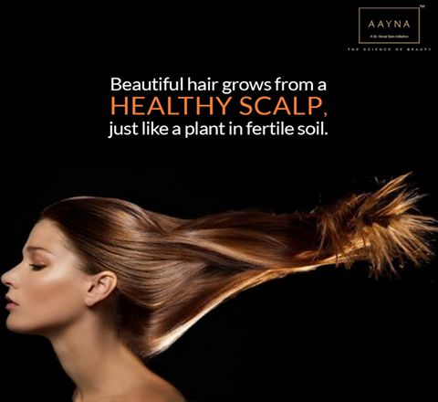 RENE FURTERER HAIR SPA -An exclusive method of hair care for a healthy scalp and beautiful hair. Awaken your senses with a sumptuous hair care experience at #AAYNA. Book an appointment : http://www.aaynaclinic.com/treatments/hair-clinic.html
