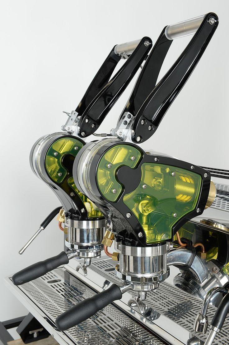 La Marzocco 'la curva' espresso machine concept