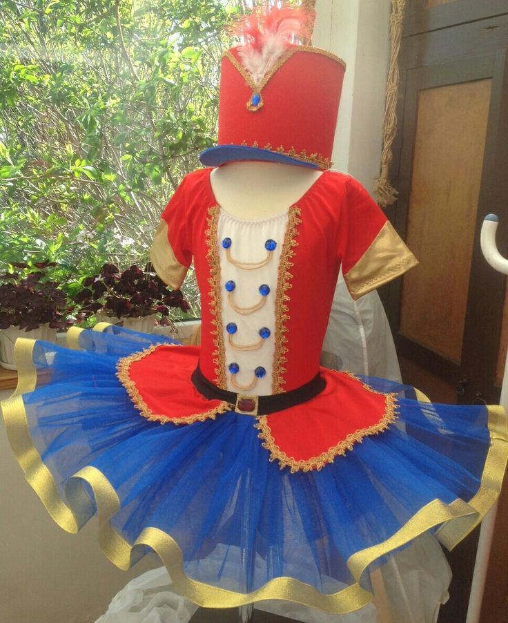 Soldier ballet sance costume Tutu