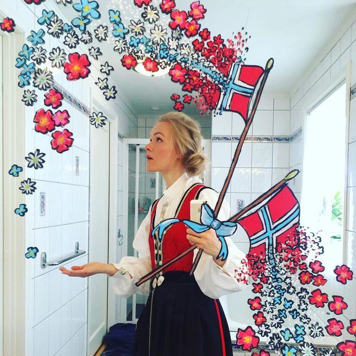 Gratulerer med dagen! ❤️❤️ #17mai #norway#nationalday #mirrorsme