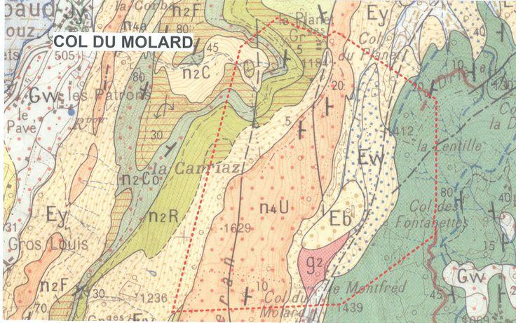 Carte géologique interprétative — Acces