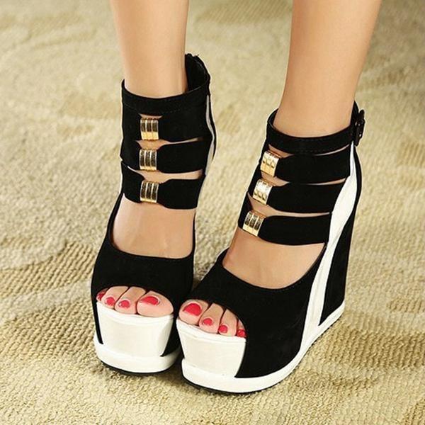 Women Platform Wedges Sandals Sexy High Heels Open Toe!  wedges|wedges shoes|wedges summer|wedges outfit|wedges bridal|wedges booties| wedges wedding|wedges low|wedges black|wedges heels|wedges cute|wedges white