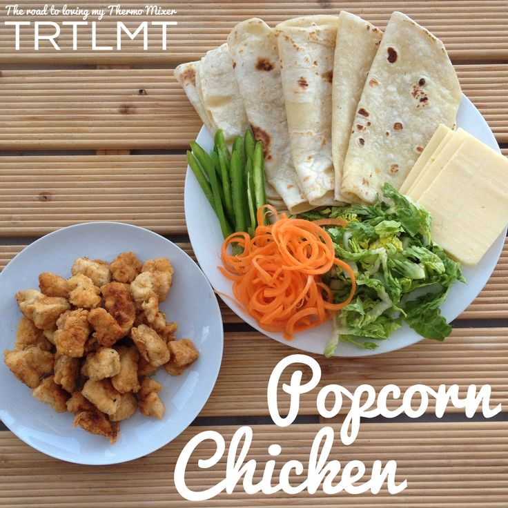 Popcorn Chicken - The Road to Loving My Thermo Mixer