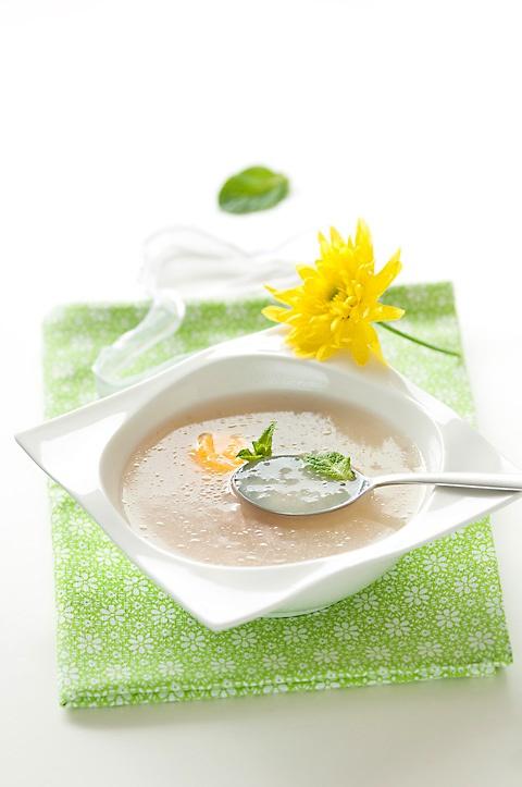 Tapioca soup