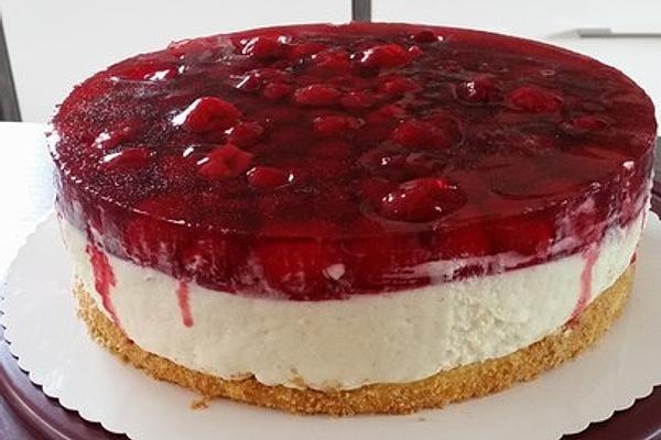 Himbeer – Vanillecreme – Torte – Rezepte Kuchen
