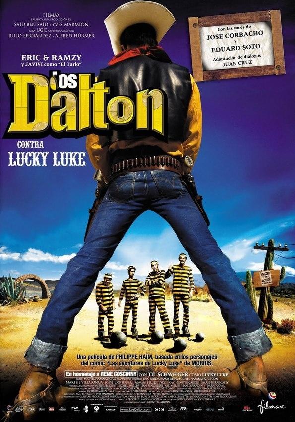 Cuando Joe y Averell, respectivamente el mayor y el menor de los cuatro hermanos Dalton, los bandidos más tontos del Oeste, deciden desvalijar un banco para que su madre se sienta orgullosa, sus disgustos sólo acaban de empezar. Después de fugarse de la cárcel, los Dalton cruzan la frontera mexicana en busca de un sombrero mágico que les permitirá conseguir sus objetivos. Pero el camino está repleto de trampas y tienen a Lucky Luke pisándoles los talones.