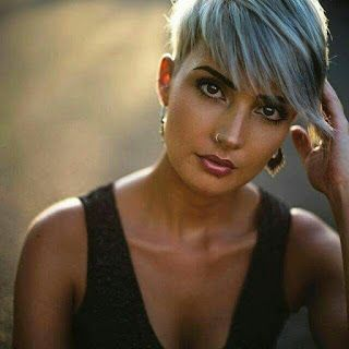 Attractive short hairstyle trend