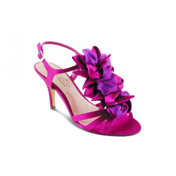 Lunar JLR061 Wedding Shoes FUSCHIA Via Polyvore Once Upon A Dream