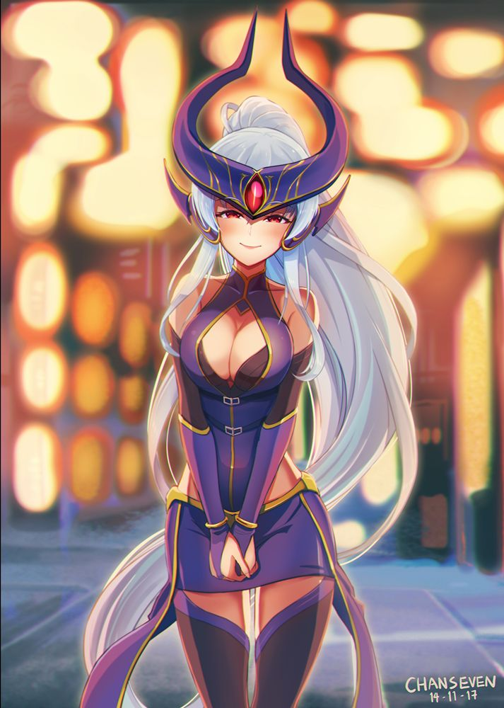 Syndra in Festival by chanseven league of legends champions