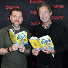 Comedian Julian Clary and illustrator David Roberts celebrate World Book Day with their new book