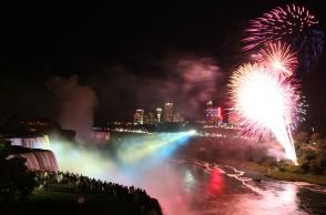 niagara falls on july 4th