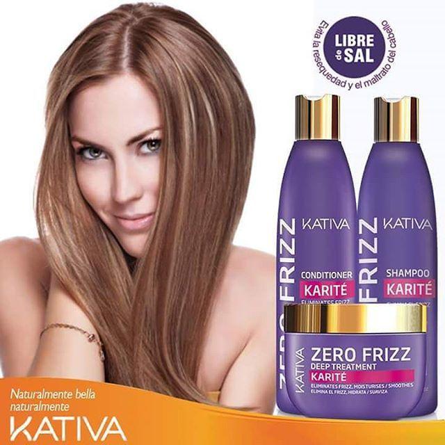 Kativa Zero Frizz Το Zero Frizz με Shea Butter είναι ένα εξαιρετικό προϊόν για το φριζάρισμα κάθε τύπου μαλλιών ανεξάρτητα αν είναι ίσια ή σγουρά. Μέσα σε πολύ σύντομο χρονικό διάστημα θα πείτε αντίο για πάντα στο φριζάρισμα.