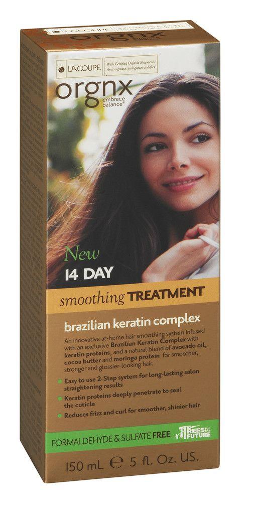 LaCoupe BRAZILIAN KERATIN 14-DAY SMOOTHING TREATMENT
