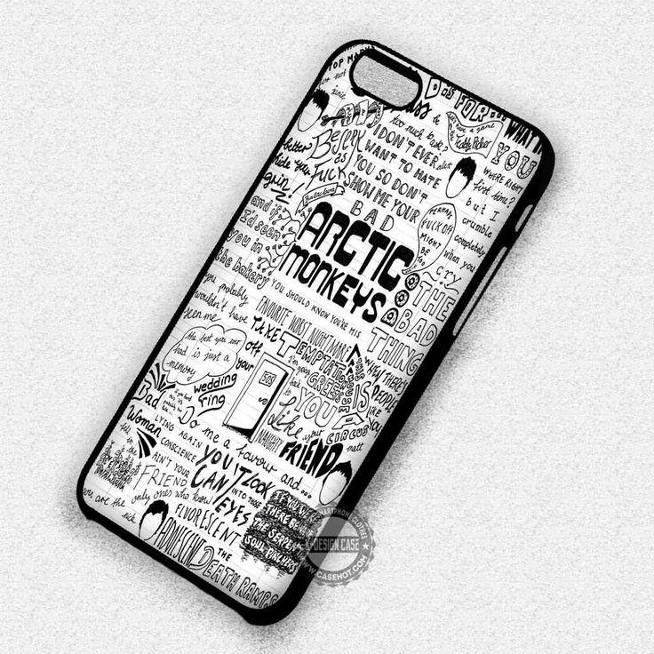 Arctic Monkeys Quote Art - iPhone 7 Plus 6 5C SE Cases & Covers