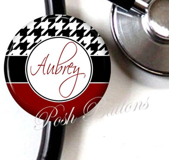 For if I get accepted to medical school- Personalized stethoscope cover!