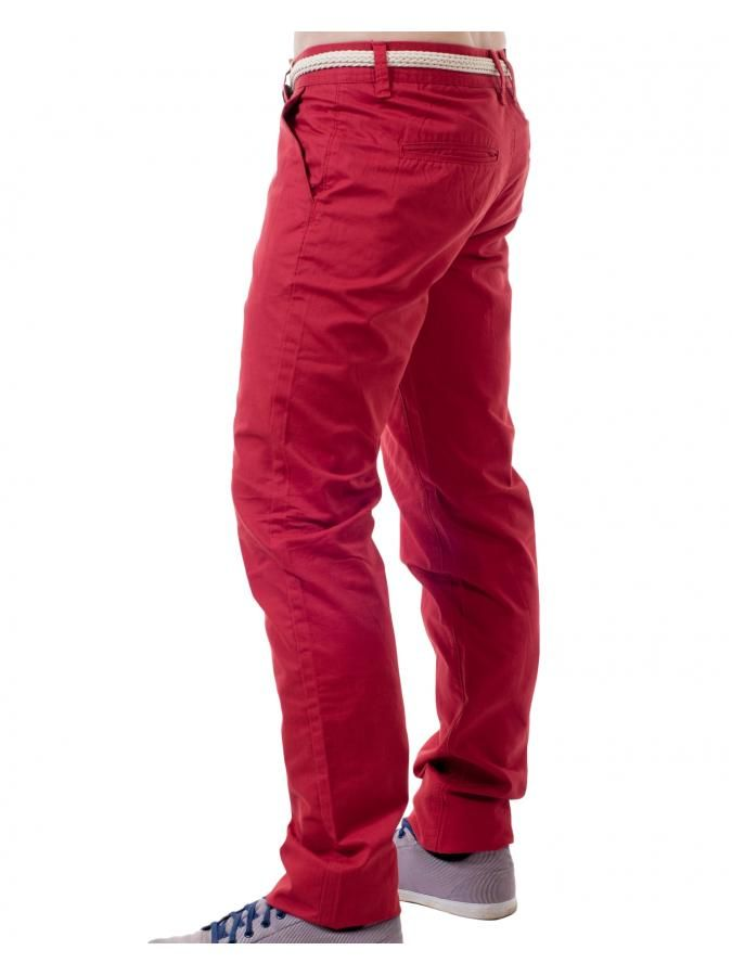 RR Τσίνος υφασμάτινο παντελόνι, ζώνη