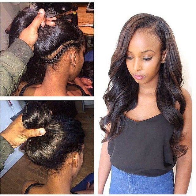 #LondonStylist @Philiperichair did an amazing #VersatileSewIn!  Check out VoiceOfHair.com for more #hairspiration