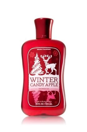 Winter Candy Apple body wash