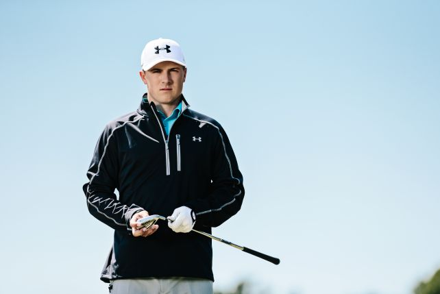 Men's ArmourStorm® Rain Jacket. In short: it's the best golf jacket for the worst conditions.