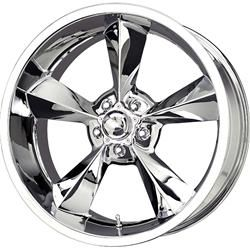 MB Wheels OS780512700C - MB Wheels Old School Chrome Wheels