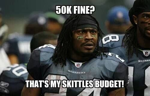 Marshawn Lynch ~ Seattle Seahawks