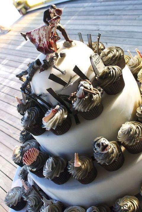 46 Crazy And Fun Zombie Wedding Ideas | HappyWedd.com