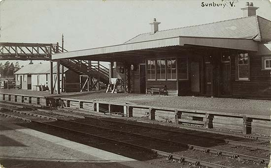 Sunbury, Victoria train station