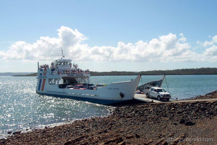 Fraser Venture vehicle ferry to Fraser Island