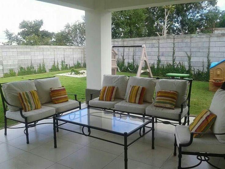 Muebles de hierro para terraza comedor cuarto de tv salas y recibidores pinterest - Muebles de terraza ...