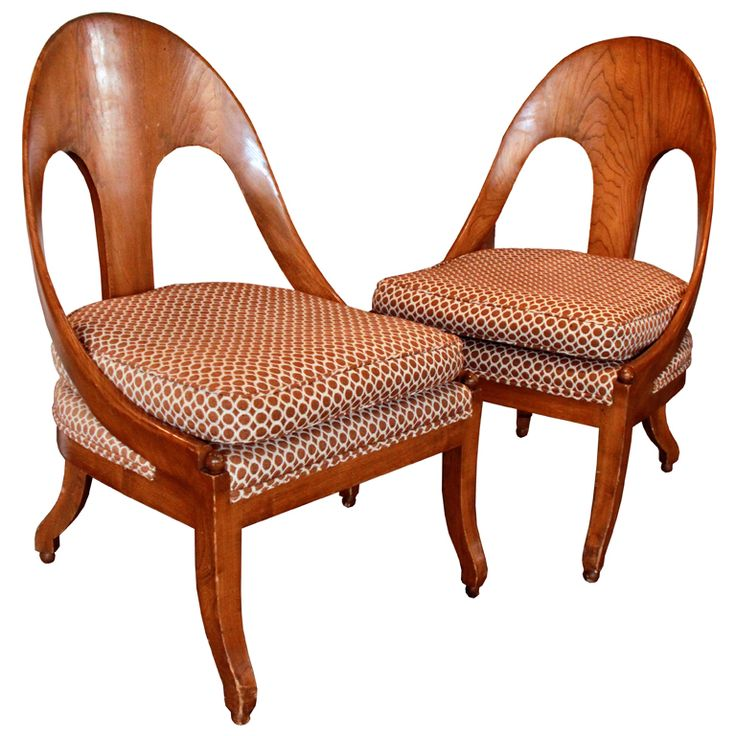 Midcentury spoon back chair | From a unique collection of antique and modern chairs at http://www.1stdibs.com/furniture/seating/chairs/