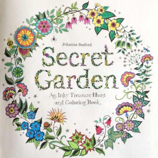 Secret Garden PicturesColouringColoring BooksSecret