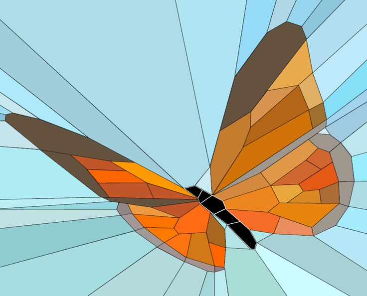(7) Name: 'Quilting : Butterfly block