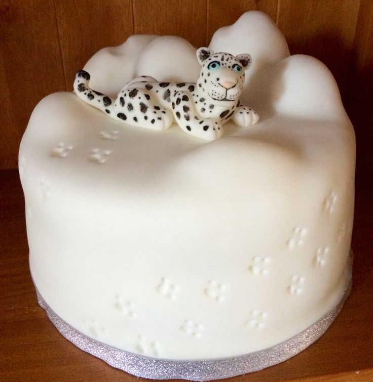 Snow Leopard Cake                                                                                                                                                      More